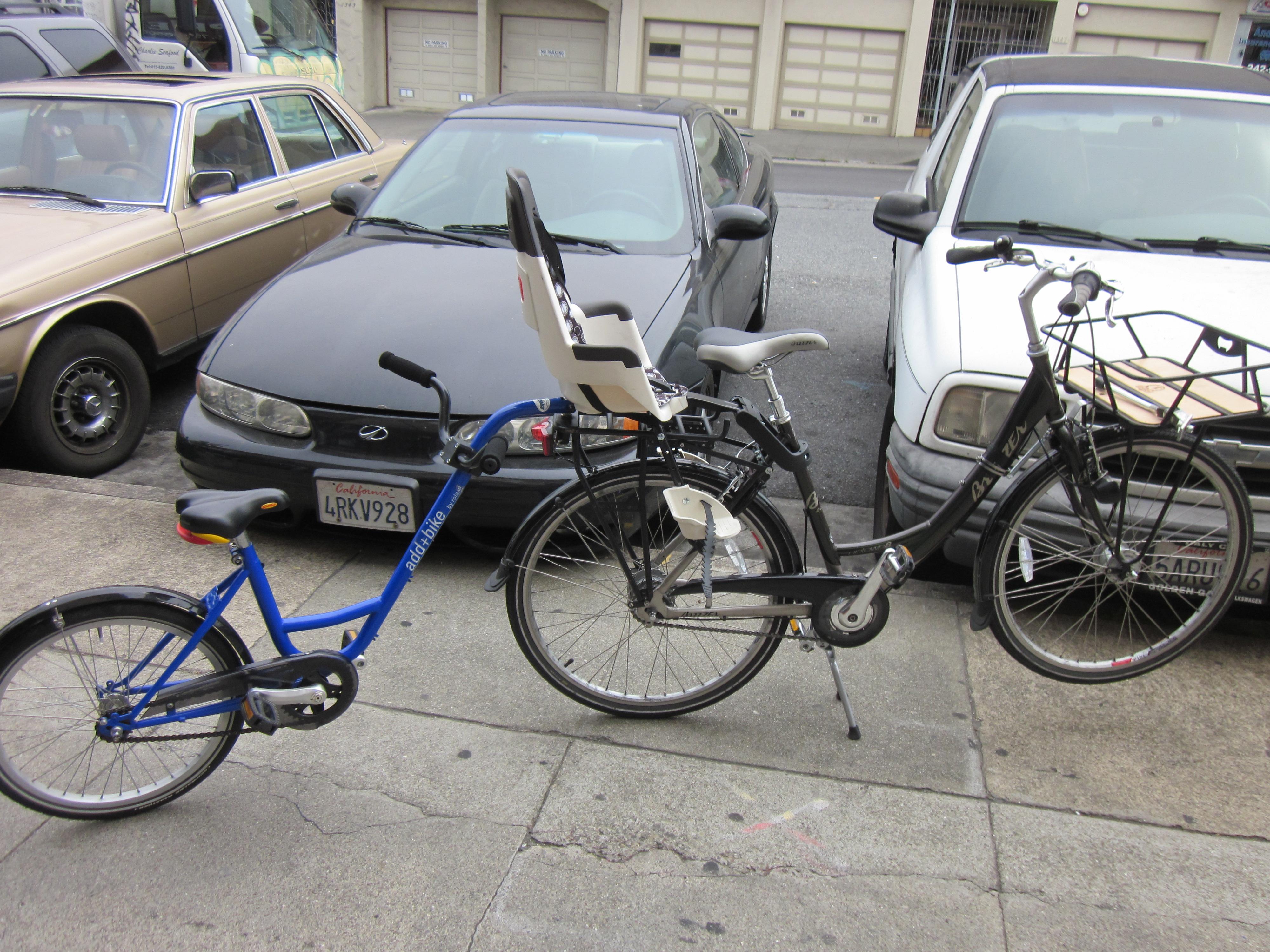 Trailer Bike Hum Of The City