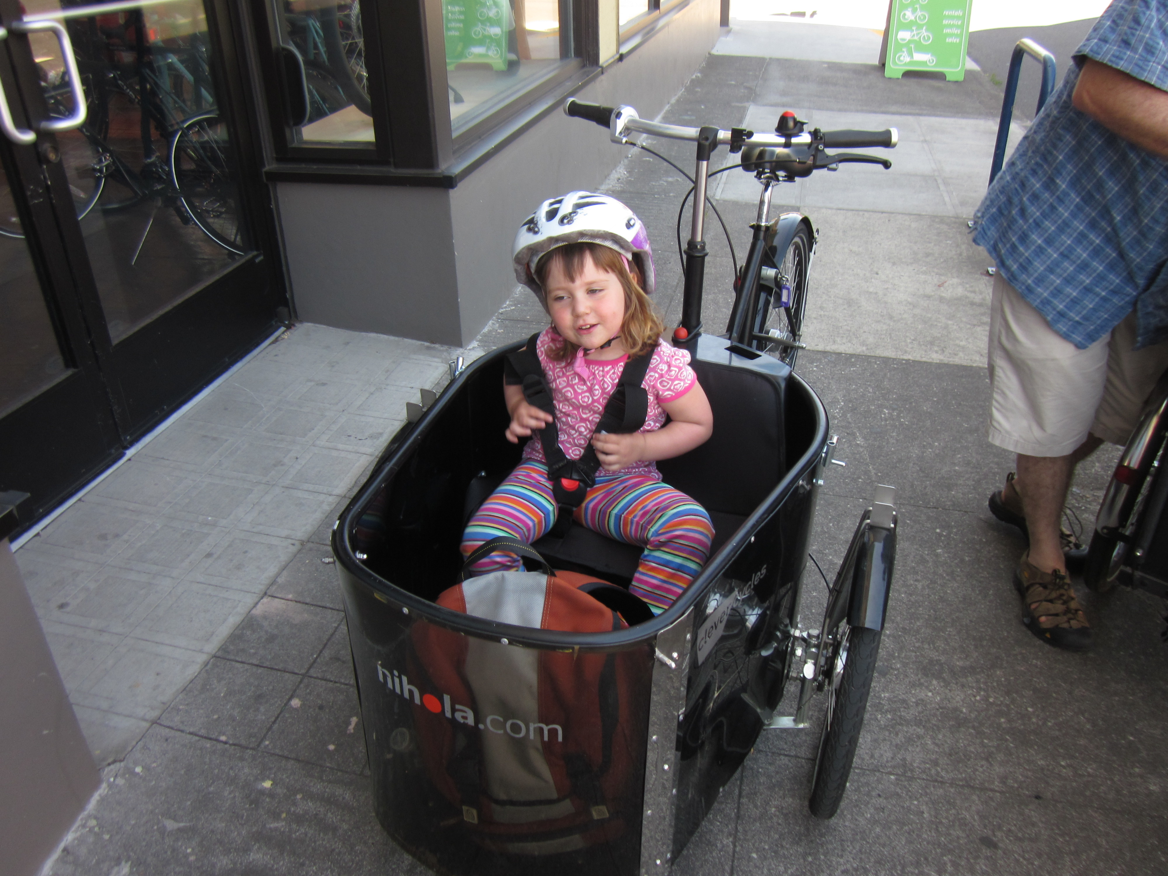 We Tried It Christiania And Nihola Cargo Tricycles Hum Of The City