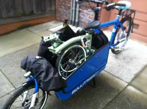 So many ways to use a cargo bike