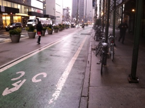I have yet to see cycling infrastructure this good in San Francisco.