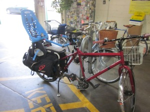 "There is no shortage of ""traditional"" family bikes like this Xtracycle, though."