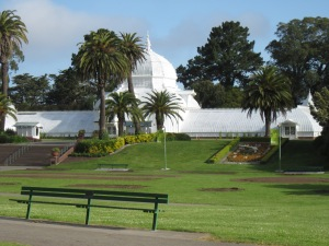 Who wouldn't want to ride in Golden Gate Park?