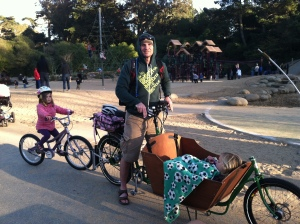 Stoked Metrofiets at Golden Gate Park