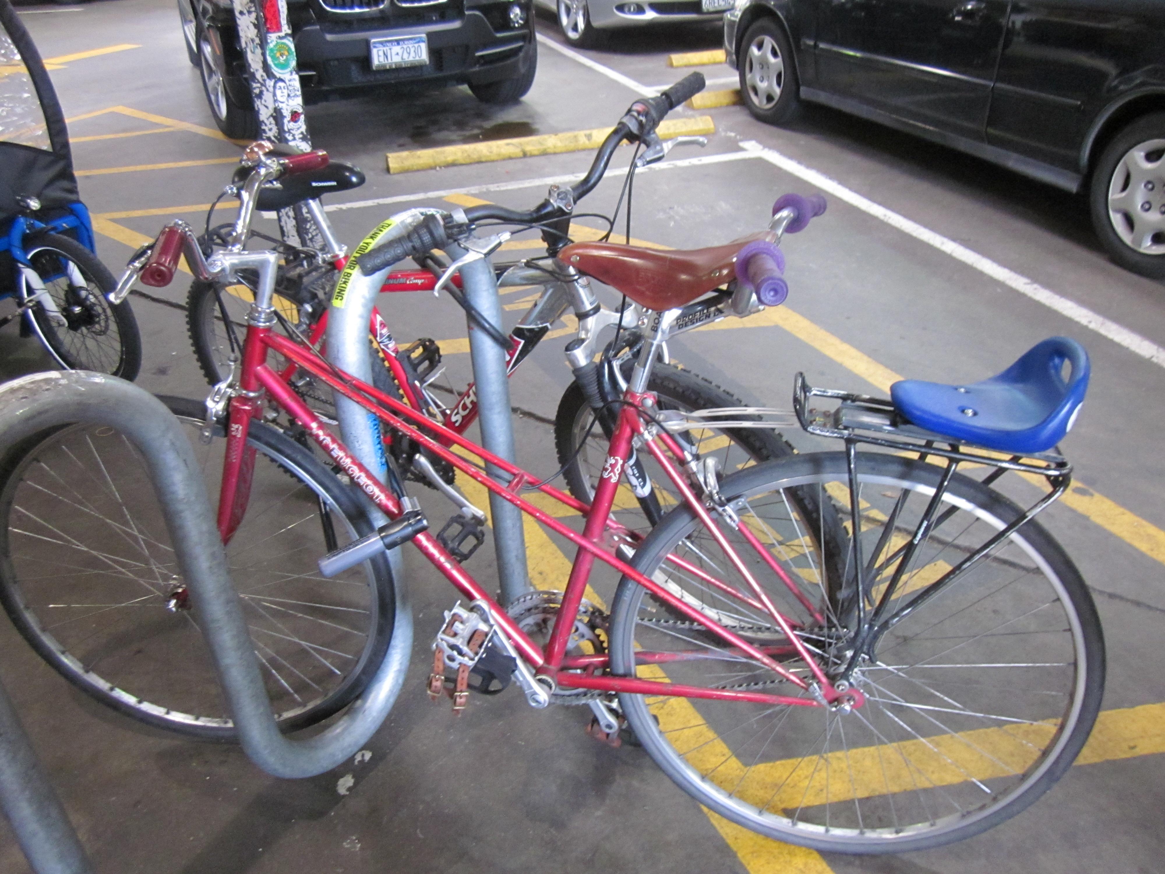 Fabricaciop Rear Bike Rack Use