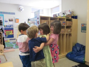 We won't miss her old preschool, although we'll miss her old friends (nearly all of whom are leaving as well).
