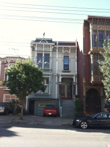 A Victorian with two units (at least) on Fulton