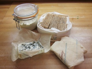Our cheese shop is delighted to use our containers for hummus, crackers and cheese. All we had to do was ask.