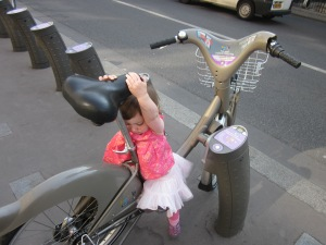 Once our kids discovered bicycles they wouldn't get off.