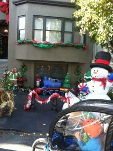 Our new neighbors' new holiday display