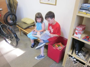 And a big shout-out still to Splendid Cycles in Portland, which had the vision to see Bullitts as a family bike. (And check out the kids' play area at their new shop!)