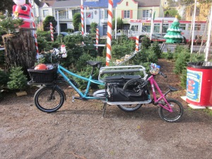 The EdgeRunner pinch-hit with some simultaneous bike- and kid-hauling