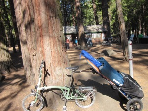 This is how we got around at Camp Mather.