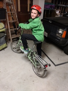 To this, in 2016. The Brompton is an all-ages bike.