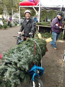 Tree loaded and ready to go