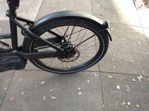 Incredibly stiff and annoying rear wheel lock